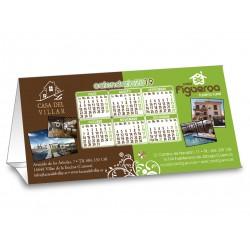 Calendario Cartón Sobremesa