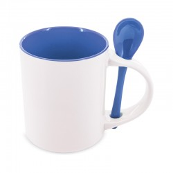 Mug Sublimación con cuchara