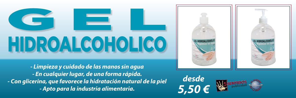 Oferta Gel Hidroalcohólico